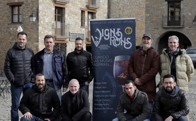 Vignerons Independientes de Huesca se presenta en el Sobrarbe