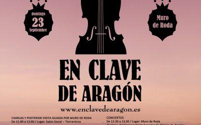 Nuestro hotel rural vuelve a colaborar con el Festival En Clave de Aragón