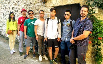 Un grupo de periodistas chinos ha visitado Abadía Samitier