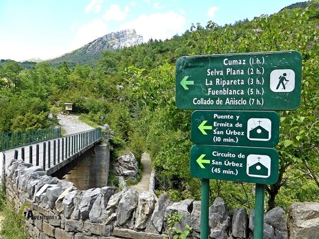 La carretera de Añisclo estará abierta del 15 al 23 de abril