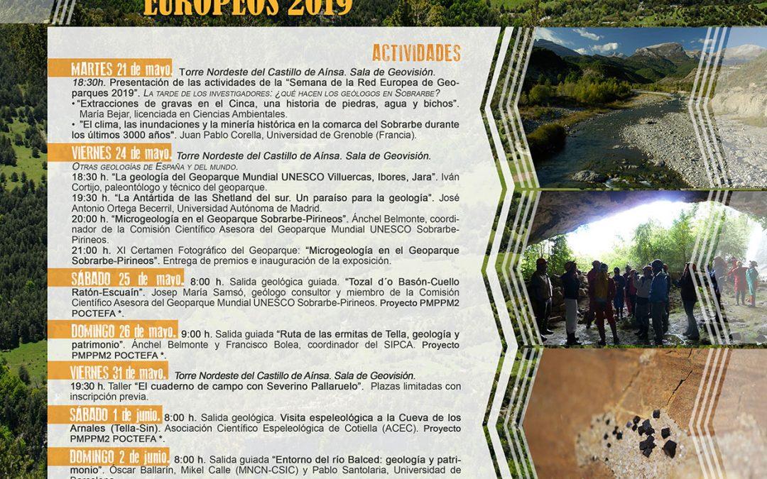 Disfruta en Samitier de la Semana de los Geoparques Europeos 2019