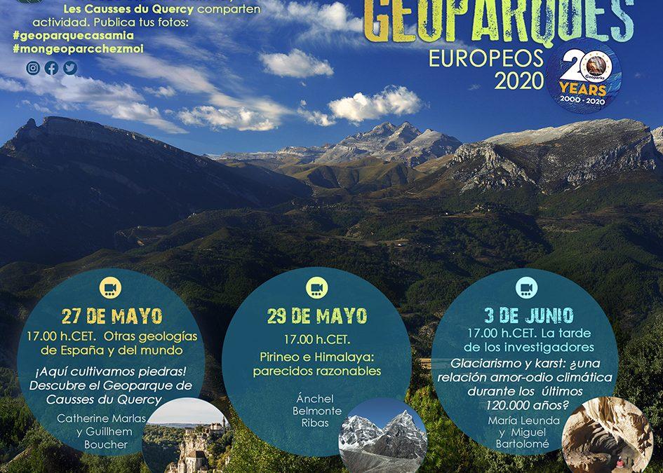 Programa Semana de los Geoparques Europeos 2020