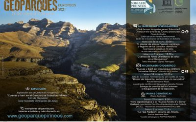 Semana de los Geoparques Europeos 2021 del Geoparque Mundial UNESCO Sobrarbe-Pirineos. Del 24 de mayo al 6 de junio.